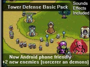 Tower Defense Basic Pixel Art Pack