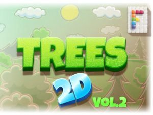 Trees 2D Vol. 2 for free (unityassets4free)