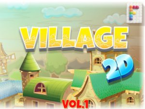 Village 2D Vol. 1 for free (unityassets4free)