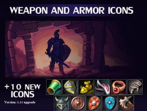 Weapon and Armor Icon Pack for free (unityassets4free)