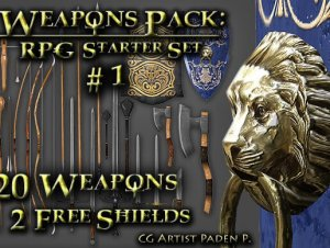 Weapons Pack: RPG Starter #1