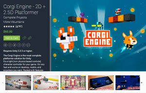 Read more about the article Corgi Engine – 2D + 2.5D Platformer – Free download