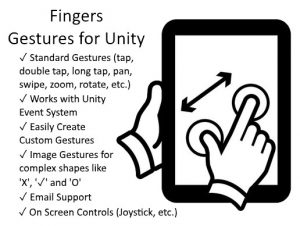 Read more about the article Fingers – Touch Gestures for Unity