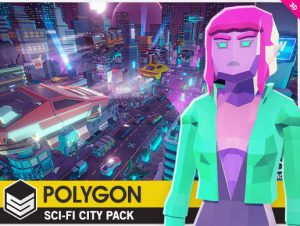 POLYGON Sci-Fi City Pack