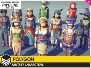 POLYGON – Fantasy Characters 1.1