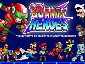 2D Anim Heroes – Free Download