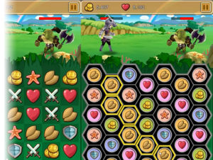 6 Games Match-3 Puzzle Action Game Pack 2.0