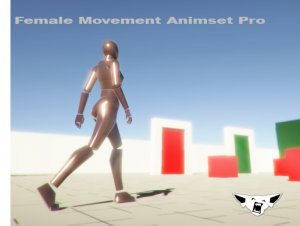 Female Movement Animset Pro
