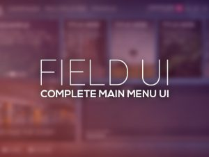 Field – Complete Main Menu UI