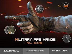 Military-FPS-Hands-Full-gloves