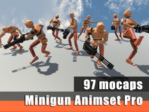 Minigun Animset Pro