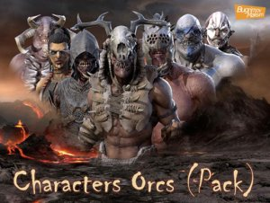 PBR Characters Orcs Pack v1.0