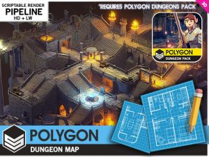 POLYGON-Dungeons-Map