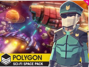 POLYGON – Sci-Fi Space Pack