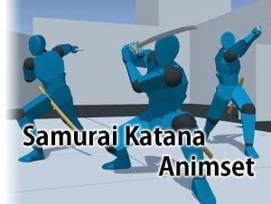 Samurai Katana AnimSet