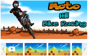 Moto Bike Hill Racing