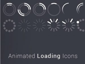 Animated Loading Icons