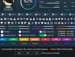 Clean & Minimalist GUI Pack