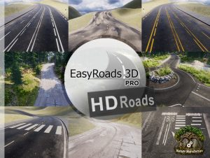 EasyRoads3D Pro Add On – HD Roads
