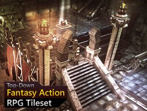 Read more about the article Fantasy Action RPG Tileset