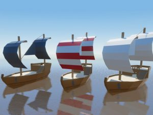 Read more about the article Low Poly Ships