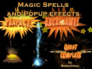 Read more about the article Magic Spells and Popup effects