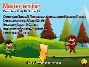 Master Archer (Bow, Arrow, Trajectory, Projectile, AI)