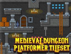 Medieval Dungeon – Platformer Tileset