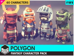 POLYGON MINI – Fantasy Character Pack
