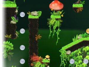 Platformer Tileset : Magic Forest