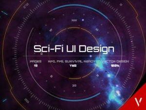 Sci-FI UI Design for uGUI