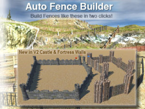 Auto Fence Wall Builder