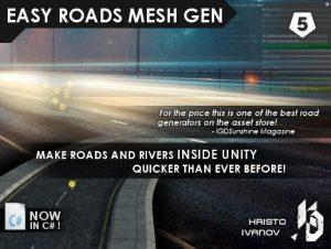 Easy Roads Mesh Gen