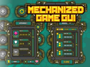 Read more about the article Mechanized Game GUI