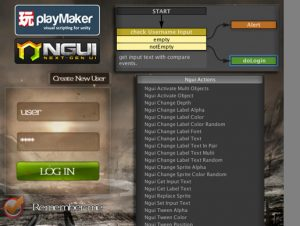 Ngui ACTION+ for PlayMaker