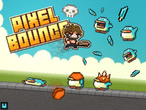 Pixel Bounce 2D +Mobile