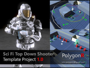 Read more about the article Sci Fi Top Down Game Template