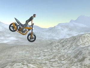 Side-Scroller Motorcycle Kit