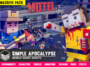 Simple Apocalypse – Cartoon Assets