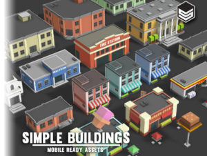 Simple Buildings – Cartoon City