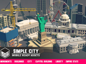 Simple City – Cartoon assets