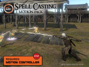 Read more about the article Spell Casting Motion Pack