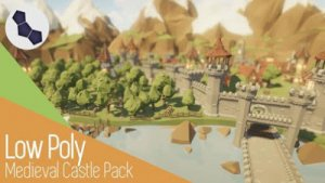 Low Poly Medieval Castle Pack