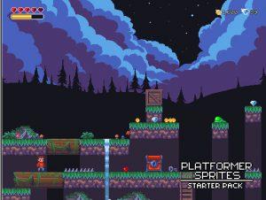 2D Platformer Sprites Starter Pack