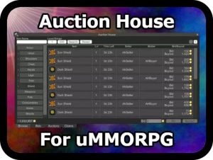 Auction House for uMMORPG