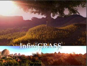 InfiniGRASS – Next Gen Interactive Volume Grass