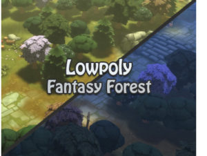 Lowpoly Fantasy Forest