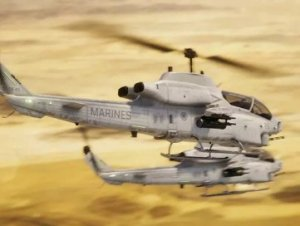 PBR Helicopter AH-1W SuperCobra