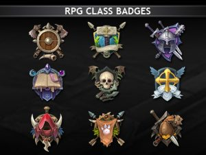 Read more about the article RPG Class Badges