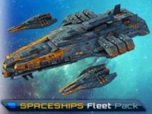 SciFi Spaceships Fleet